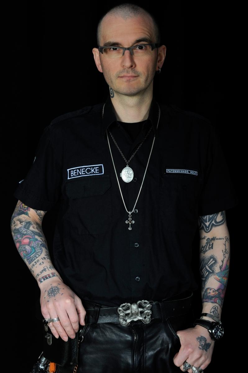 Mark Benecke Tattoos